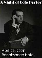 April 23, 2009 - A Night of Cole Porter